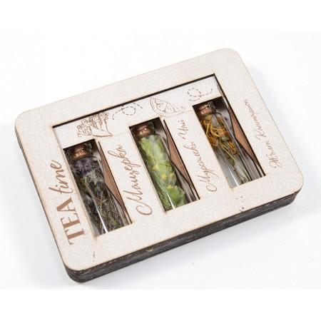 Аромати от природата: TEA Time (3 аромата) - подарък Еко Кардс