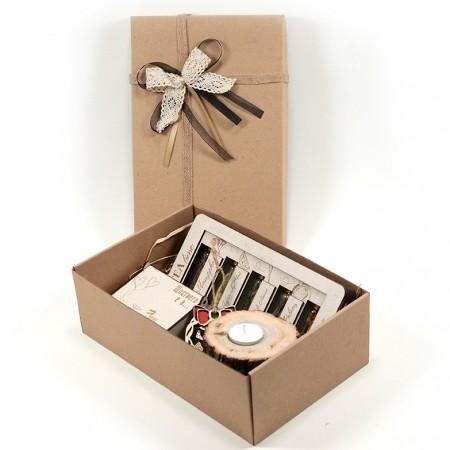 Подаръчен комплект: Коледа с EcoCards (голям) - с подаръчна кутия