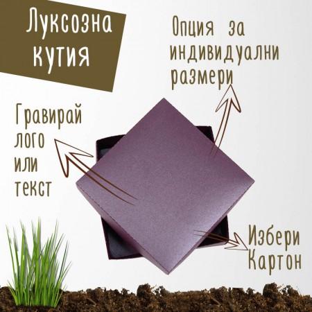 Луксозна картонена кутия - морава