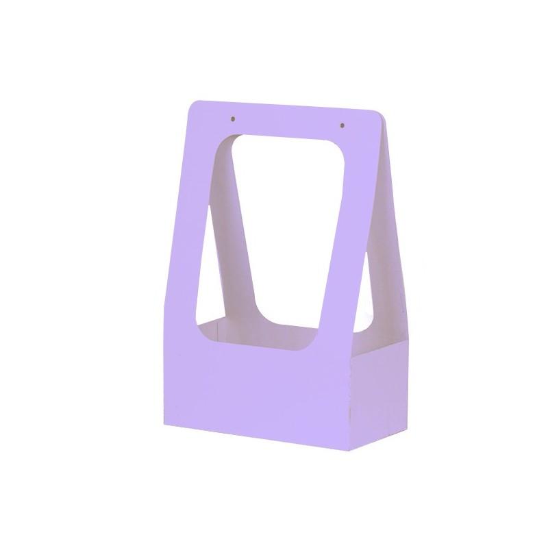 Торбичка за цветя: Лилава