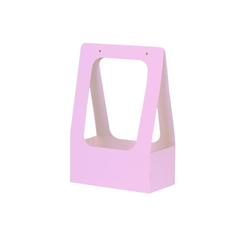Торбичка за цветя: Розова, Гланц