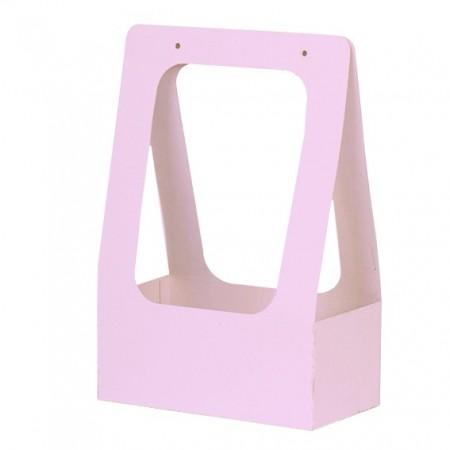 Торбичка за цветя: Розова, Мат