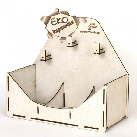 Стелаж за картички: Настолен, 3 позиции