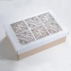 Луксозна Ажурна Кутия с елегантен мотив
