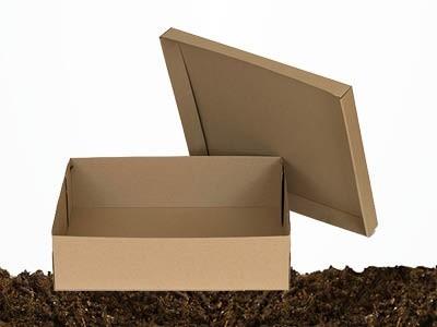 Кутии от картон с отделен капак - EcoCards.bg